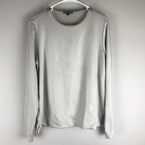 A'nue ligne Miami long sleeve tee grey L